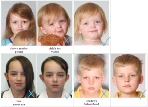 children passport photo rules