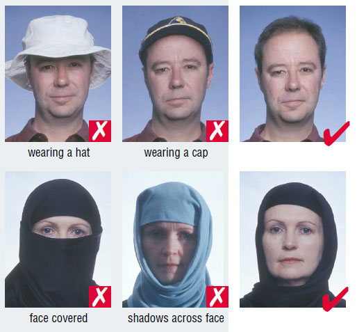U.S passport photo requirements
