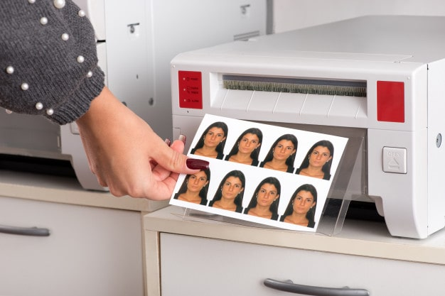 Print passport photo at home