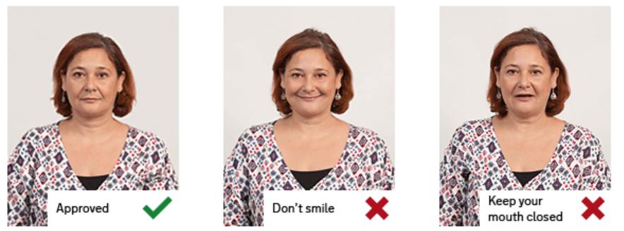 UK passport photo guidelines